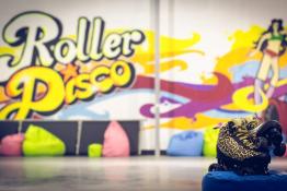 Warszawa Atrakcja Tor wrotkarski Wrotkarnia Roller Disco