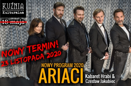 Warszawa Wydarzenie Kabaret Kabaret Hrabi - Ariaci